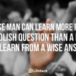 How to Learn From Questions