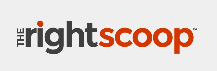 The Right Scoop - logo