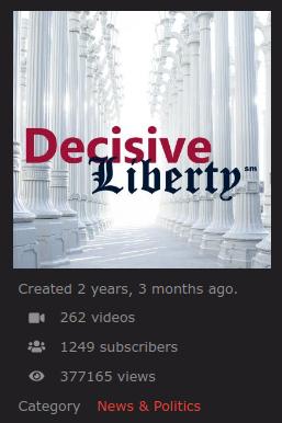 Decisive Liberty BitChute